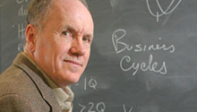 Edward Prescott, ASU Professor and 2001 Nobel Laureate
