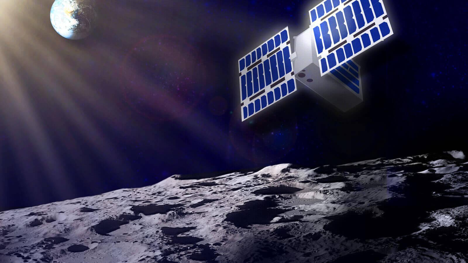 NASA mission exploring the presence of hydrogen on the southern hemisphere of the moon with CubeSats