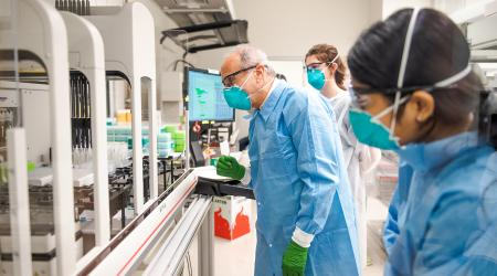 ASU develops state's first saliva-based COVID-19 test
