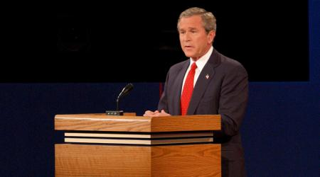 Debate George Bush